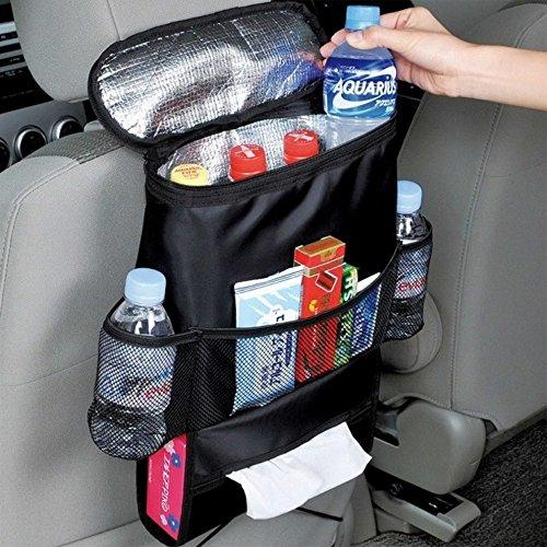 Ducomi® Bolsa nevera de coche plegable y compacta con 5compartimentos (28x 22x 10cm)