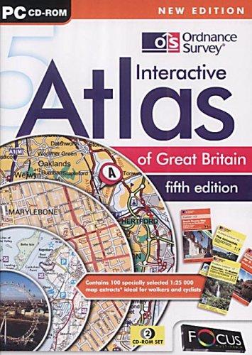 Ordnance Survey Interactive Atlas of GB 5th Edition Test