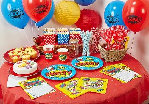 House of Party bpwfa-3905WOW Party Ultimate Geschirr-Set für (Superhelden Dekorationen Party)