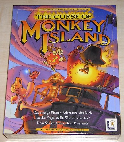 LucasArts The Curse of Monkey Island