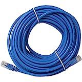 Link-e ® : Cable Reseau Ethernet RJ45 20m CAT.6 Qualité Pro, Haut Débit, Connexion Internet Box, TV, PC, Consoles, PS4, PS3, Xbox, Switch, Routeur...