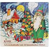 KNOX Räucherkerzen Adventskalender mit 24 himmlischen Düften - 2016