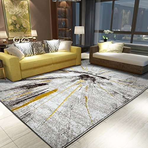 Shaggy Teppich Jute Cane Woven Boden Teppich Anti-Skid Moisture Proof Rechteck Matten für Schlafzimmer Wohnzimmer Studie Teppich (Größe: 1,6 * 2,3 MT) (Cane Schlafzimmer)