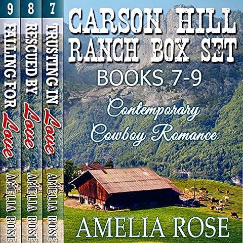 Carson Hill Ranch Box Set, Books 7-9