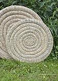 Strohscheibe, rund - Traditionelle Zielscheibe fürs Bogenschießen Größe 80 cm
