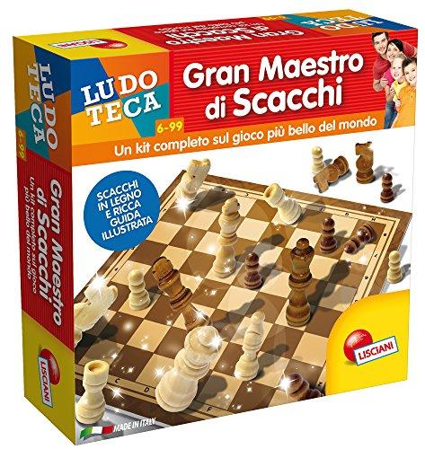 Lisciani Giochi 57009 - Ludoteca Gran Maestro Di Scacchi