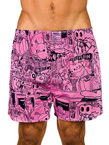 Lousy Livin -  Coordinato abbigliamento termico  - Uomo Rosa - rosa