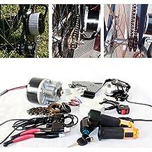 cepillo eléctrico para bicicleta–250W gaspedal eléctrico con schlüsselschalter y batteriespannung Fácil–Kit para DIY–E–bike