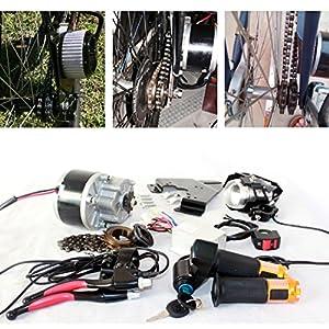250w Spazzola elettrica Motore per Bicicletta elettrica acceleratore con Chiave Interruttore e Batteria di voltaggio…