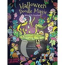 Halloween Doodle Magie — Malbuch für Erwachsene: Inspiration, Entspannung und Meditation mit Hexen und Zauberei