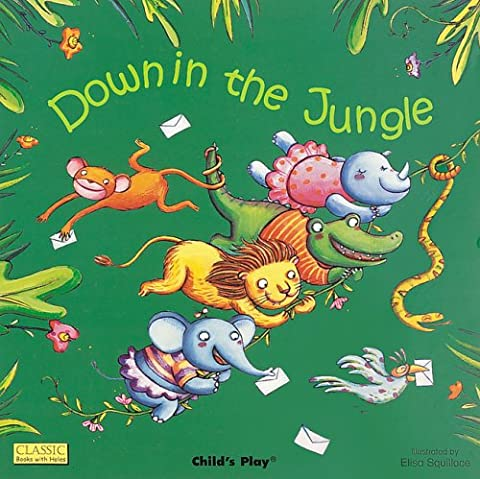 Down in the Jungle (Classic Books with Holes Board