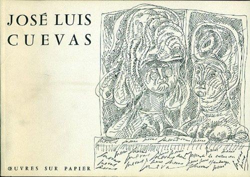 José Luis Cuevas. Oeuvres sur papier. Aquarelles collages dessins gravures