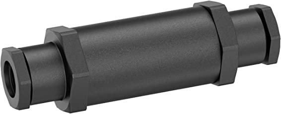 parlat LC-SS-117 IP68 Kabel-Muffe für 6-9 mm Kabel, Schwarz, 12 x 3.9 x 3.9 cm