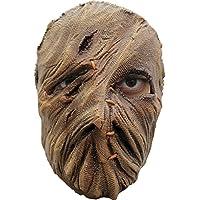 Einäugige Vogelscheuche Maske des Grauens aus Latex - Erwachsenen Horror Kostüm Halbmaske - ideal für Halloween…