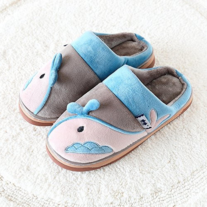 Kinder Hausschuhe aus Baumwolle cartoon Männer und Frauen warme dicke Haare und die dicken Schuhe innen Hausschuhe