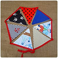 Pirate Bunting Flags, Bunting for Boys Bedroom, Pirate Bedroom Accessories Kids