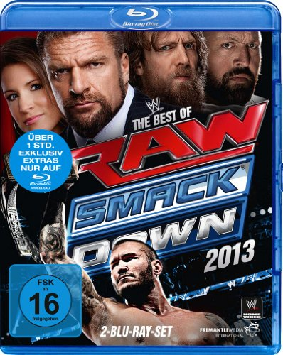 The Best of Raw & Smackdown 2013 [Blu-ray]