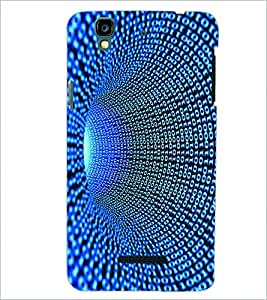 PRINTSWAG BLUE PATTERN Designer Back Cover Case for MICROMAX YU YUREKAPLUS PLUS