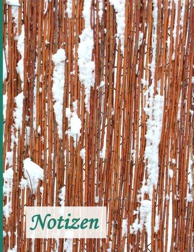 Preisvergleich Produktbild Notizbuch: BROCKHAUSEN - Das praktische Notizbuch - Weidenzaun im Schnee (Winterinspirationen)