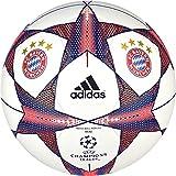 adidas Herren Ball FC Bayern Finale 15 Mini, White/Craft Red F12/Royal, 1, S90235