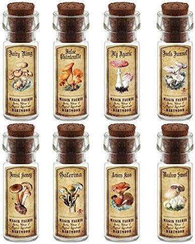 MyTinyWorld Maison De Poupées Pharmacie 8 Fungus / / Fungus Champignon Bouteille Et Couleur étiquettes Lot DE 2 B018RNJ10G 73f9ee