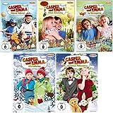Casper und Emma - 5 DVD-Set inkl. Weihnachten (Fahrrad, Geburtstag, Kindergarten, Winterferien, Weihnachten) - Deutsche Originalware [5 DVDs]