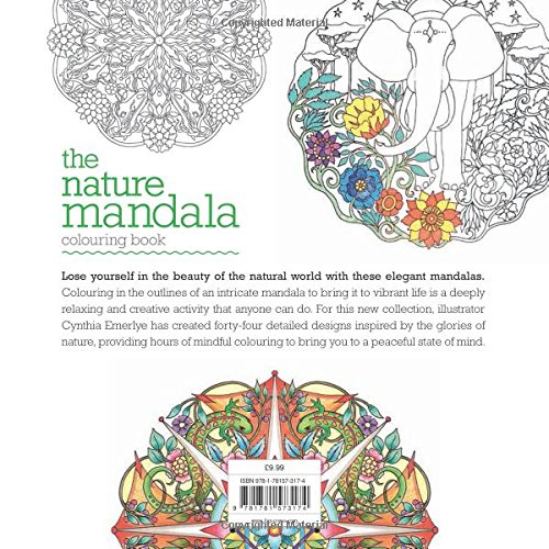 The Nature Mandala Colouring Book (Colouring Books)