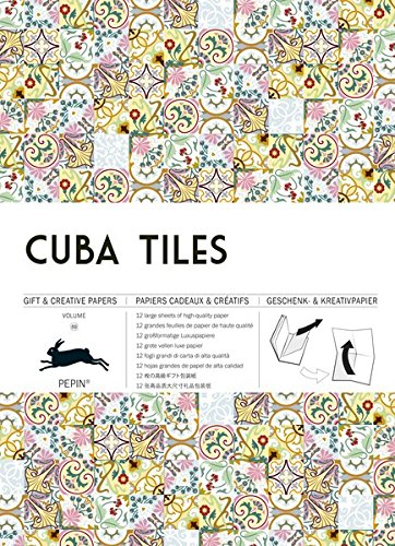 Cuba Tiles: Gift & Creative Paper Book Vol. 69 (Gift & Creative Paper Books) - Kunst London-themed