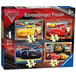 Ravensburger Italy- Puzzle in a Box Cars 3, 06894 4