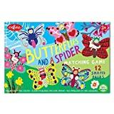 Butterflies And A Spider Matching Game