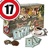 Geburtstagsgeschenk 17. | Bohnen Kaffee Adventskalender | Kaffeebohnen Adventskalender Aromakaffee Bohnen Kaffee Adventskalender Freundin Adventskalender Freund Aventskalender Männer