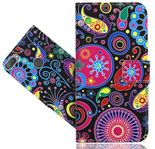 HTC Desire 12 Plus / Desire 12+ Handy Tasche, FoneExpert® Wallet Case Flip Cover Hüllen Etui Hülle Ledertasche Lederhülle Schutzhülle Für HTC Desire 12 Plus / Desire 12+