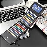 #10: Chronex Women's Wallet Clutch - Multi Card Organizer Wallet With Zipper Pocket
