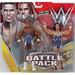 WWE Battle Pack Serie 44 Action Figures - Americano Alpha Jason Jordan & Chad Gable Tag Team