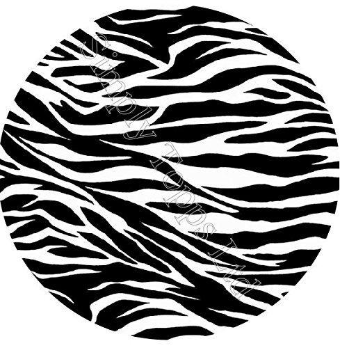 Zebra Druck Thema Bedruckt sugar zuckerguss blatt (7.5