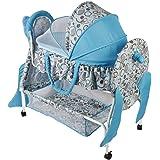 سرير للاطفال حديثي الولادة، ازرق