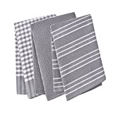Best Classic 100s - Classic Tea Towels,100% Cotton Kitchen Towels,Waffle Weave Dish Review
