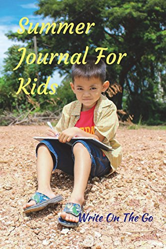 Summer Journal For Kids: Good Days Start With Love and Gratitude. Treasure your good moments in   your life and keep them as a beautiful gems which never fade away. Write on   the go por Leisure Journals