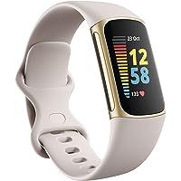 Fitbit Charge 5 Aktivitäts-Tracker mit 6-monatiger Premium-Mitgliedschaft, bis zu 7 Tagen Akkulaufzeit und Tagesform…