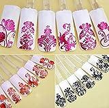 Da.Wa Beauty Decoration Manicure Glitter Toe Wraps Nail Art Sticker...