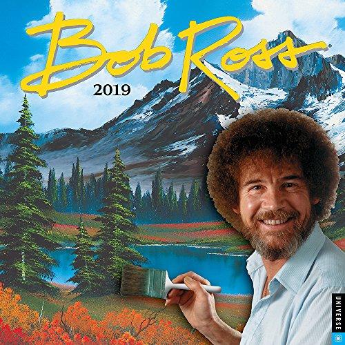 Bob Ross 2019 Calendar