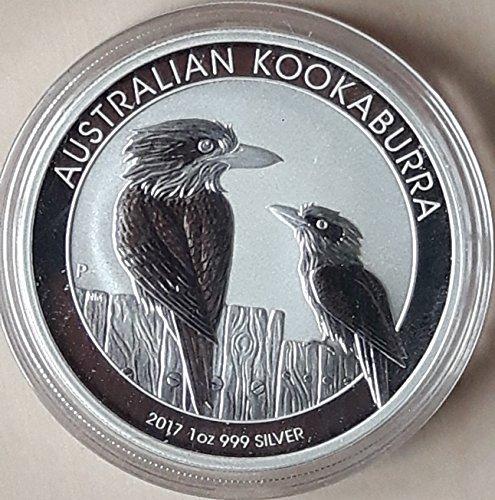Kookaburra 2017 Silbermünze Silber Münze 1 Unze 1 oz in Münzkapsel Silber Münzen 1 Oz
