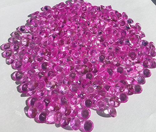 300unidades 10mm reluciente Violette Deko diamantes brillantes brillantes de piedras de acrílico...