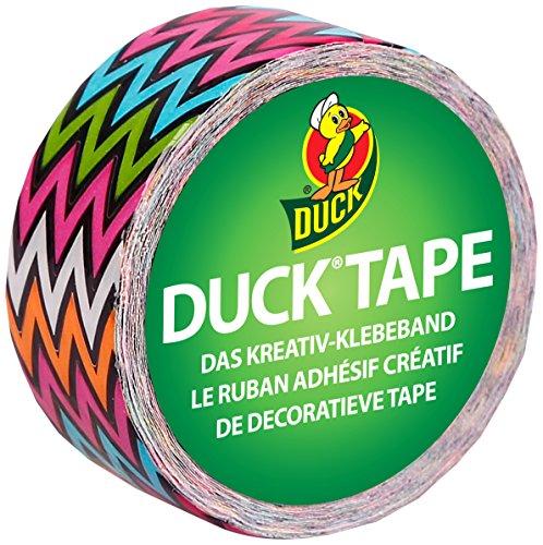 Duck Tape 221734 Gewebeband, 19 mm x 4,5 m, Duckling High Voltage