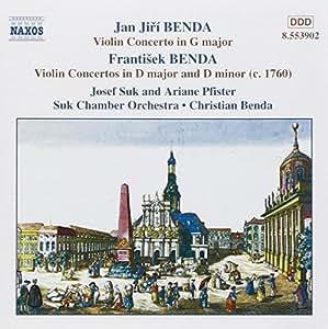 Benda/concertos violon vol.1