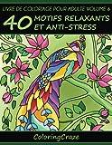 Livre de coloriage pour adulte Volume 6: 40 motifs relaxants et anti-stress, Série de livre de coloriage pour adulte par ColoringCraze...