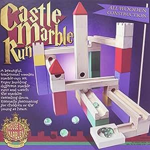Wooden Castle Marble Run