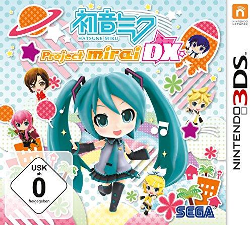 Hatsune Miku: Project Mirai DX (3DS) (Project F Diva Hatsune 2nd Miku)