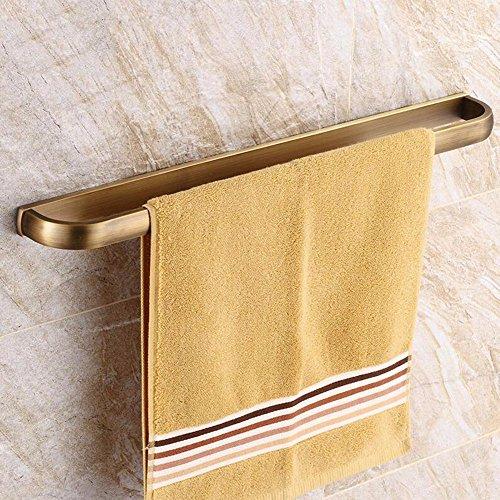LHbox Tap Handtuchhalter Antik Kupfer Bad Handtuch Rackmount-Server In antiken Dusche Handtuchhalter Einhebelsteuerung, Kupfer, Bohrung 57,5 cm Antik-server