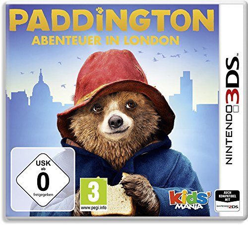 - 61ZSN7V3igL - Paddington: Abenteuer in London (3DS)